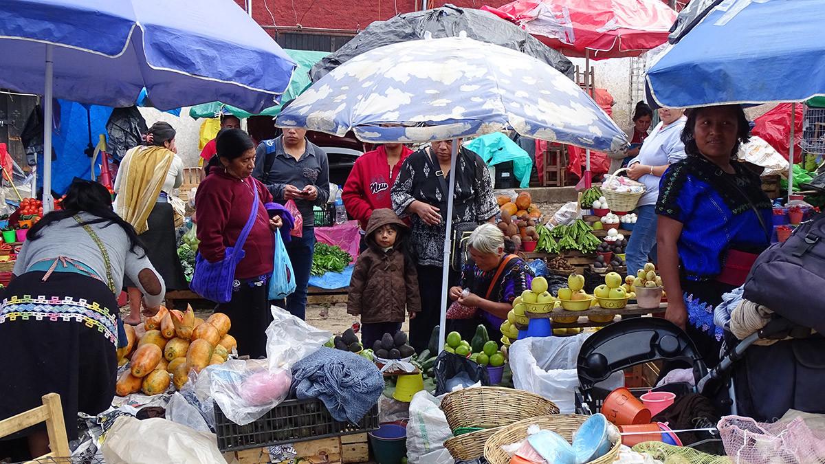 San Cristóbal de las Casas Markt