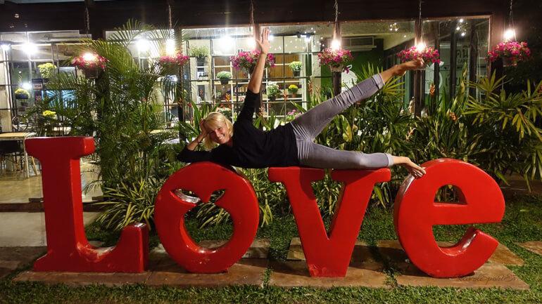 Südostasien Rundreise Chiang Mai Thailand Love Restaurant