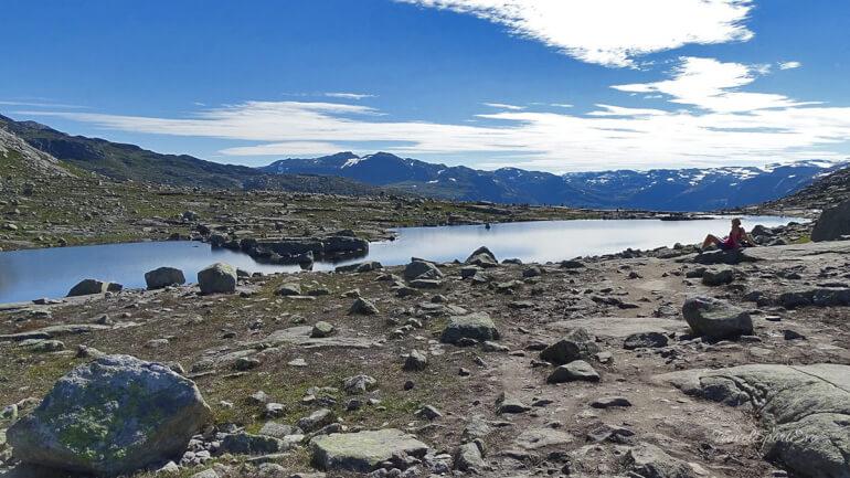 Trolltunga Norwegen See