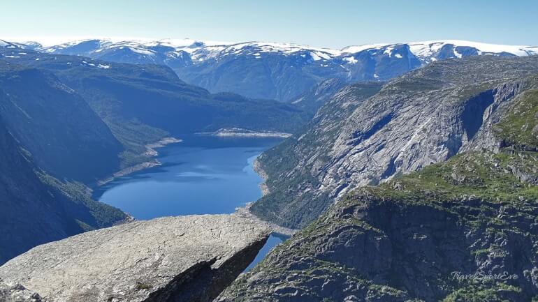 Trolltunga Norwegen Trollzunge