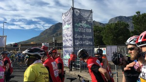 Garden Route Südafrika Radreise Argus Cape Town Cycle Tour Start
