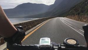 Garden Route Südafrika Radreise Gordons Bay Radaussicht