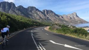 Garden Route Südafrika Radreise Gordons Bay Szenerie