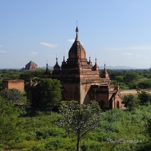 Myanmar Bilder Bagan Pagoda
