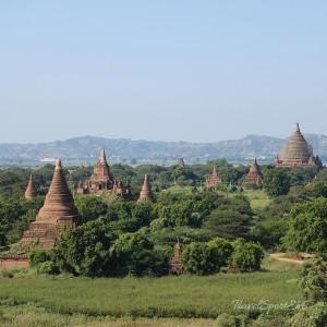 Myanmar Bilder Bagan Tempelland