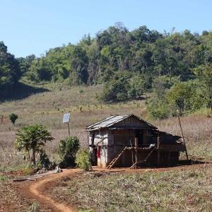 Myanmar Bilder Hsipaw Haus