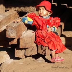 Myanmar Bilder Hsipaw Kind