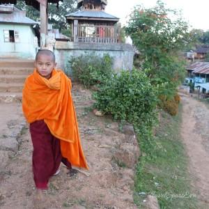 Myanmar Bilder Hsipaw Buddha