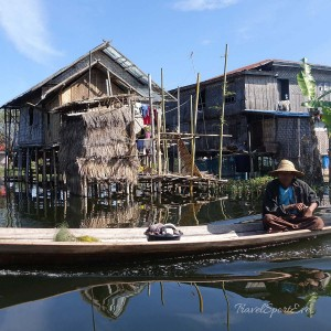 Myanmar Bilder Inle Lake Boot