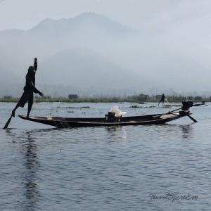 Myanmar Bilder Inle Lake Fischermann