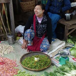 Myanmar Bilder Inle Lake Markt