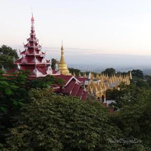 Myanmar Bilder Mandalay Mandalay Hill Aussicht