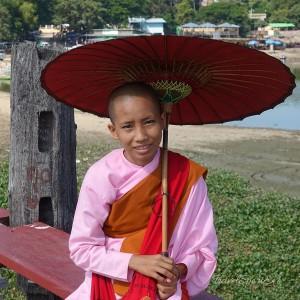 Myanmar Bilder Mandalay U-Bein Brücke