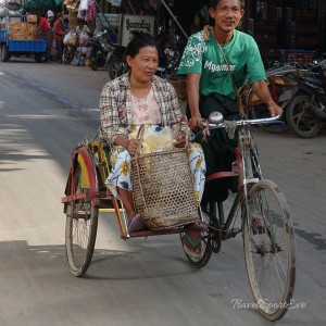 Myanmar Bilder Mandalay Markt