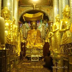 Myanmar Bilder Yangon Shwedagon
