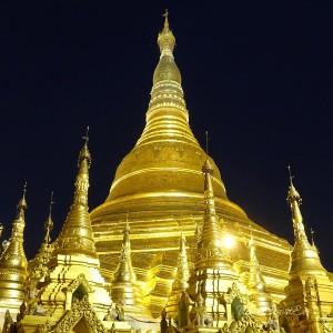 Myanmar Bilder Yangon Shwedagon Pagoda