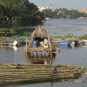 Vietnam Bilder Hoi An Flluss