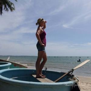Vietnam Bilder Mui Né Boote