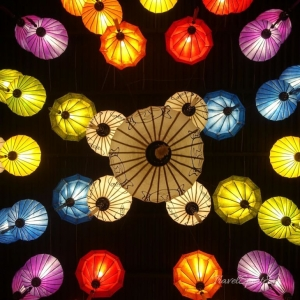 Vietnam Bilder Nha Trang Lampions