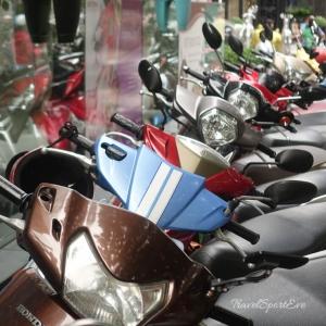 Vietnam Bilder Nha Trang Rollerfahren