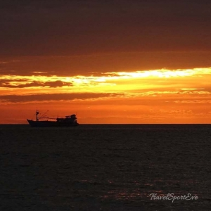 Vietnam Bilder Phu Quoc Sonnenuntergang