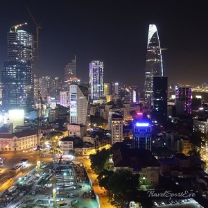 Vietnam Bilder Saigon Ho Chi Minh Skyyline