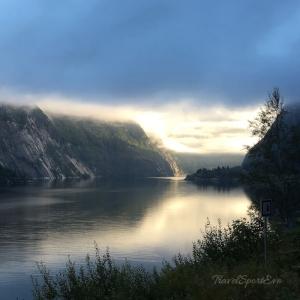 Norwegen Bilder Langfoss
