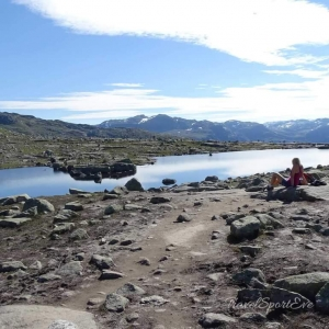 Norwegen Bilder Trolltunga See