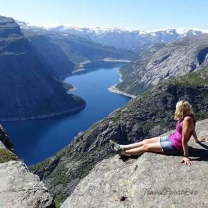 Norwegen Bilder Trolltunga Ausblick