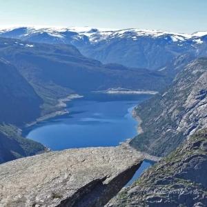 Norwegen Bilder Trolltunga