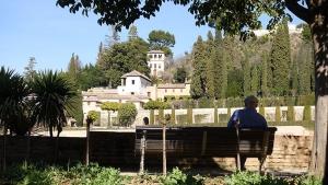 Generalife Alhambra in Granada