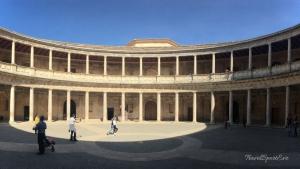 Palast Karl V in der Alhambra in Granada