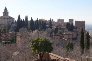 Alhambra in Granada Alcazaba