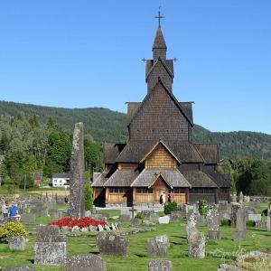 Südnorwegen Rundreise Kirche