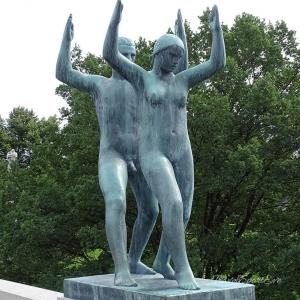 Norwegen Bilder Oslo Figurenpark