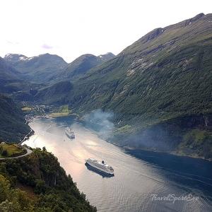 Norwegen Bilder Geiranger Fjord